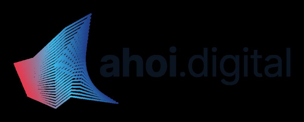 Logo groß ahoi.digital die Allianz der Hamburger Hochschulen für Informatik