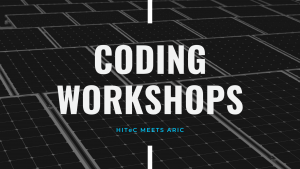 HITec der Universität bietet über ARIC im Wintersemester 2020 Coding Workshops für alle an